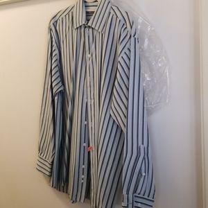 Reaction striped dress shirt